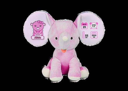Personalised Baby Elephants (soft-toy)