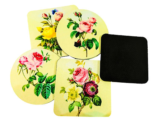 Personalised Rubber Coaster (100PCS)