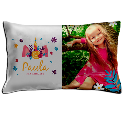 Personalised Pillow 50cm X 36cm