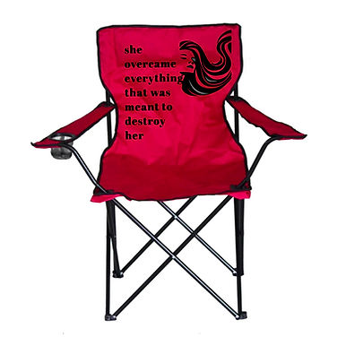 Camping Chair with Names