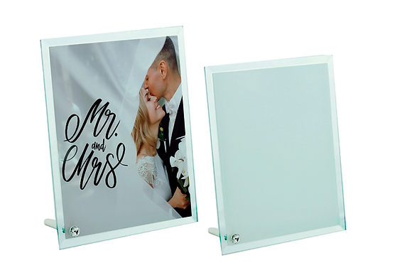 Personalised Glass Photo Prints-23cmx18cm