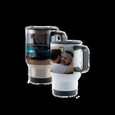 Personalised Stainless Steel Travel Mug