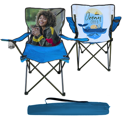 Camping Chair with Photo
