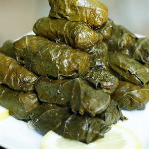 Serbe grape leaves