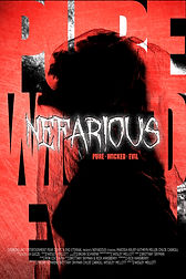nefarious poster - pure wicked evil - wo