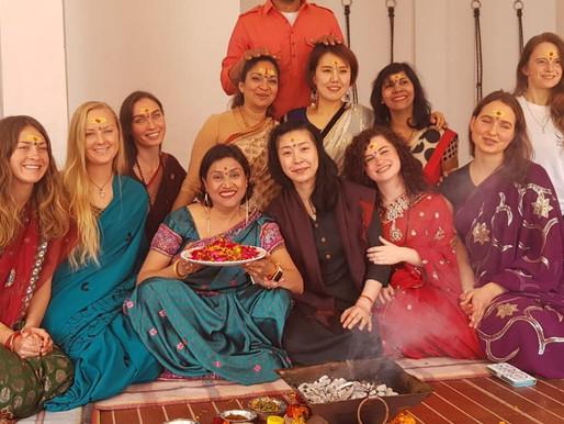 Journey to Rishikesh by Amanda Horkin