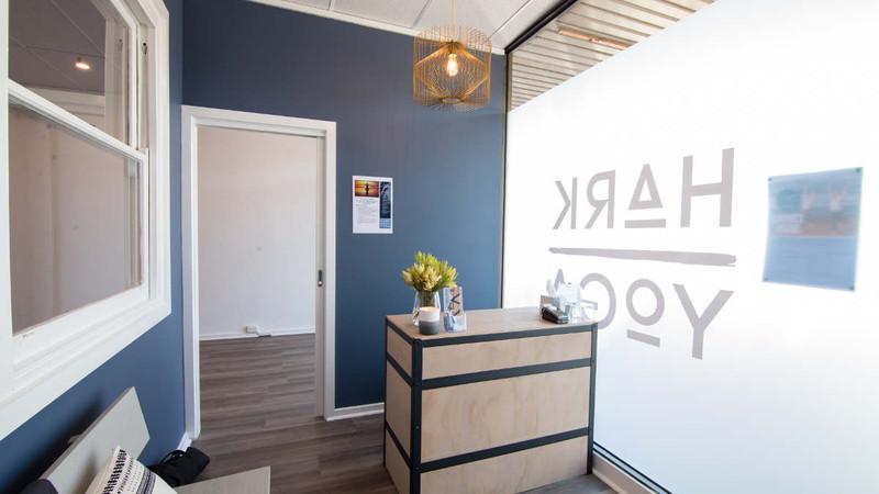 Hark Yoga Studio Reception.jpg