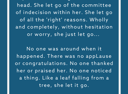 SHE LET GO by Rev. Safire Rose