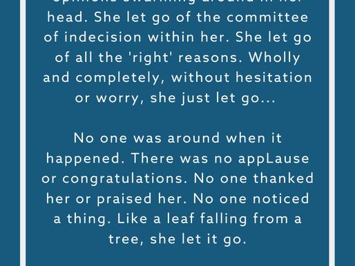 SHE LET GO by Rev. Safire Rose