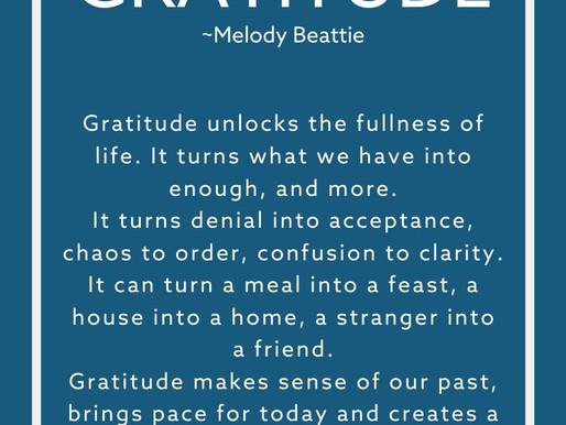 GRATITUDE POEM by Melody Beattie