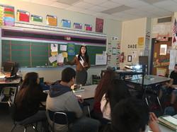 Alice Run STEM Program at Carter High Sc