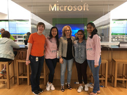Girls in STEM with Microsoft DigiGirls P