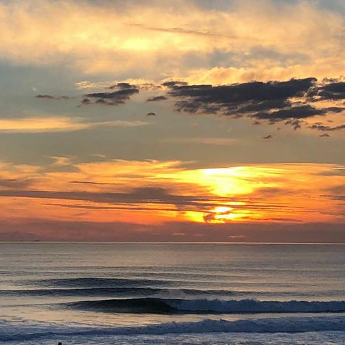 6. Nazare Sunset