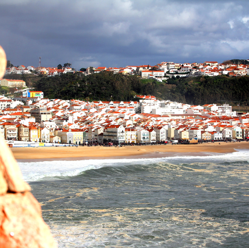 Looking back at Nazare