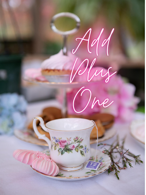 High Tea Add Plus1