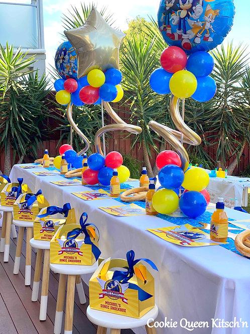 12 Kids DeLux Table Setup