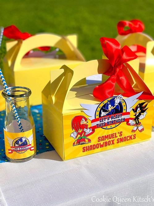 Savoury Snackboxes