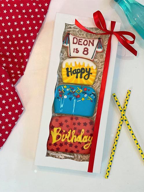 Birthday Cookie Cake Stackbox