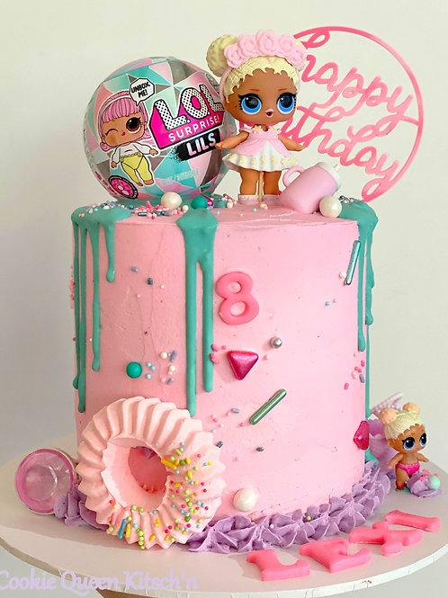 8 inch Celebration Buttercream Cake