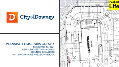 Downey Planning Commission to consider approving 9th Starbucks