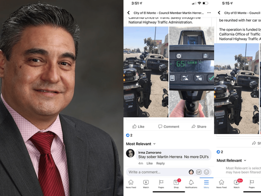 El Monte's newest Council Member caught deleting public records