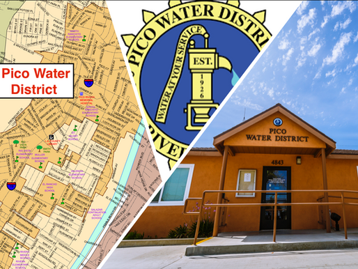 Pico Water District accepting applications for appointment to Board of Directors