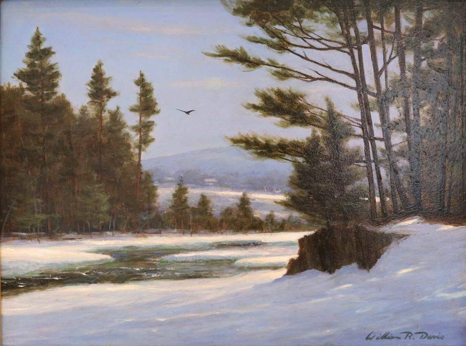 Winter at Jackson Falls, NH