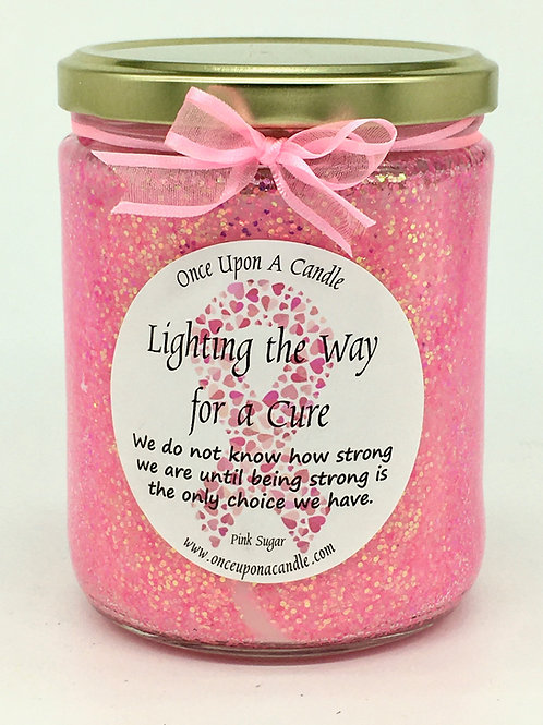 Pink Sugar - Breast Cancer Research Candle