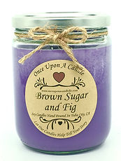 Once Upon a Candle Brown Sugar & Fig