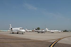 North Platte LBF - Apron Biz Jets.JPG