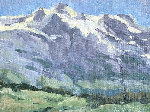 Take Me to the Mountains | 8x10, Oil on Canvas