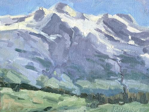 Take Me to the Mountains | 8x10, Oil on Canvas