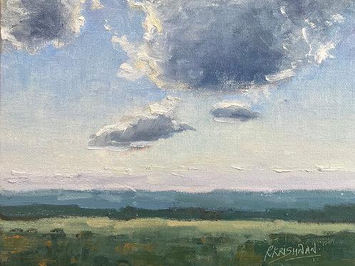 Open Sky | 8x10, Oil on Canvas