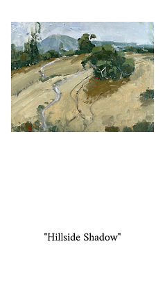 Painting inspired by teh Los Altos Hills. Perfect for any home decor.