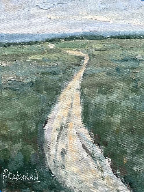 Desire Path | 8x6, Oil on Canvas