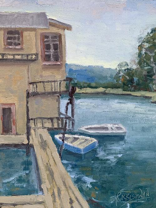 Fisherman's Wharf, Monterey | 8x10, Oil on Canvas