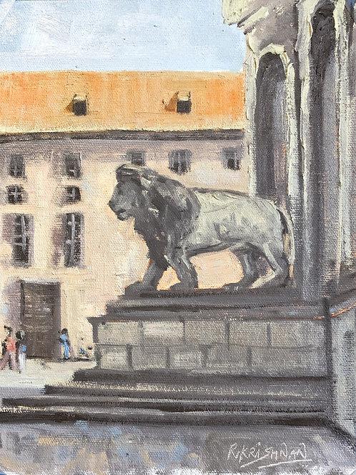 Munich | 8x10, Oil on Canvas