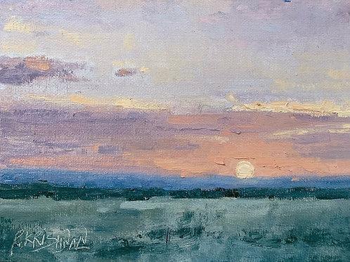 Pastel Glow | 6x8, Oil on Canvas