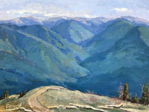 The Overlook   12x16, Oil on Canvas