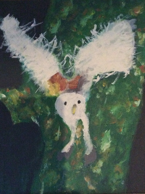 Owl on Cnavas