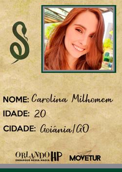 Carolina Milhomem