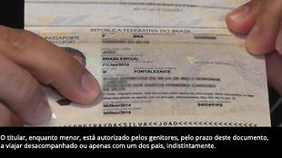 Autorização de viagens para menores é incluída no passaporte