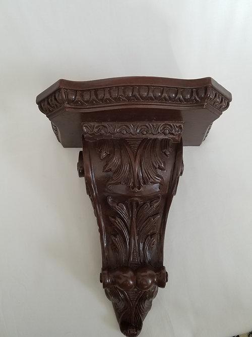 Ornate Carved Wall Shelf
