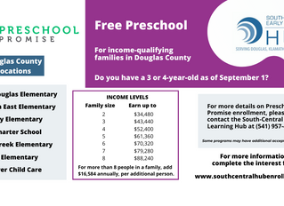 Preschool Promise Enrollment