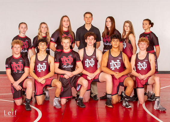 North Douglas High School Wrestling 2019