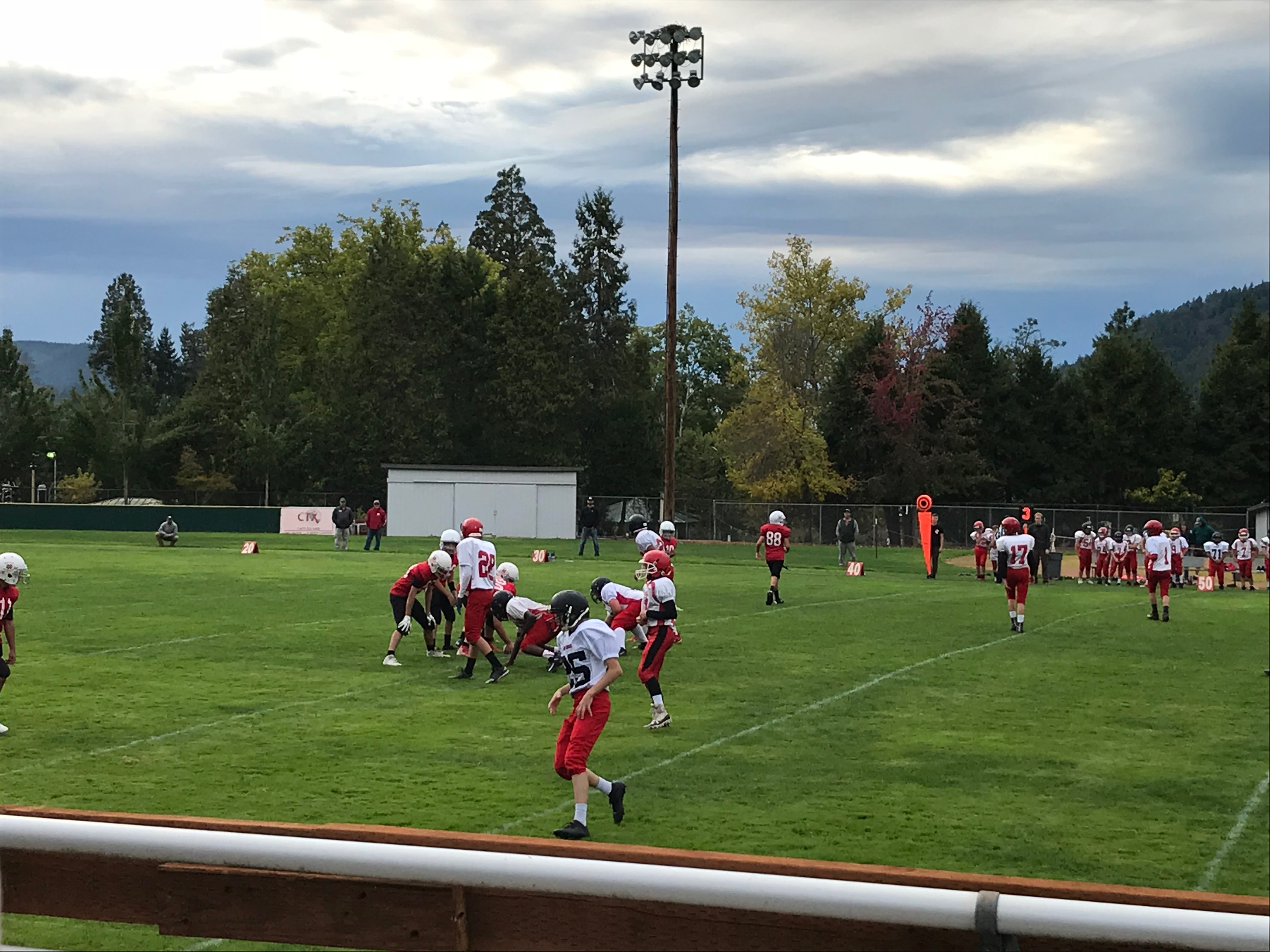 1 Football VS Lowell 10-2-19