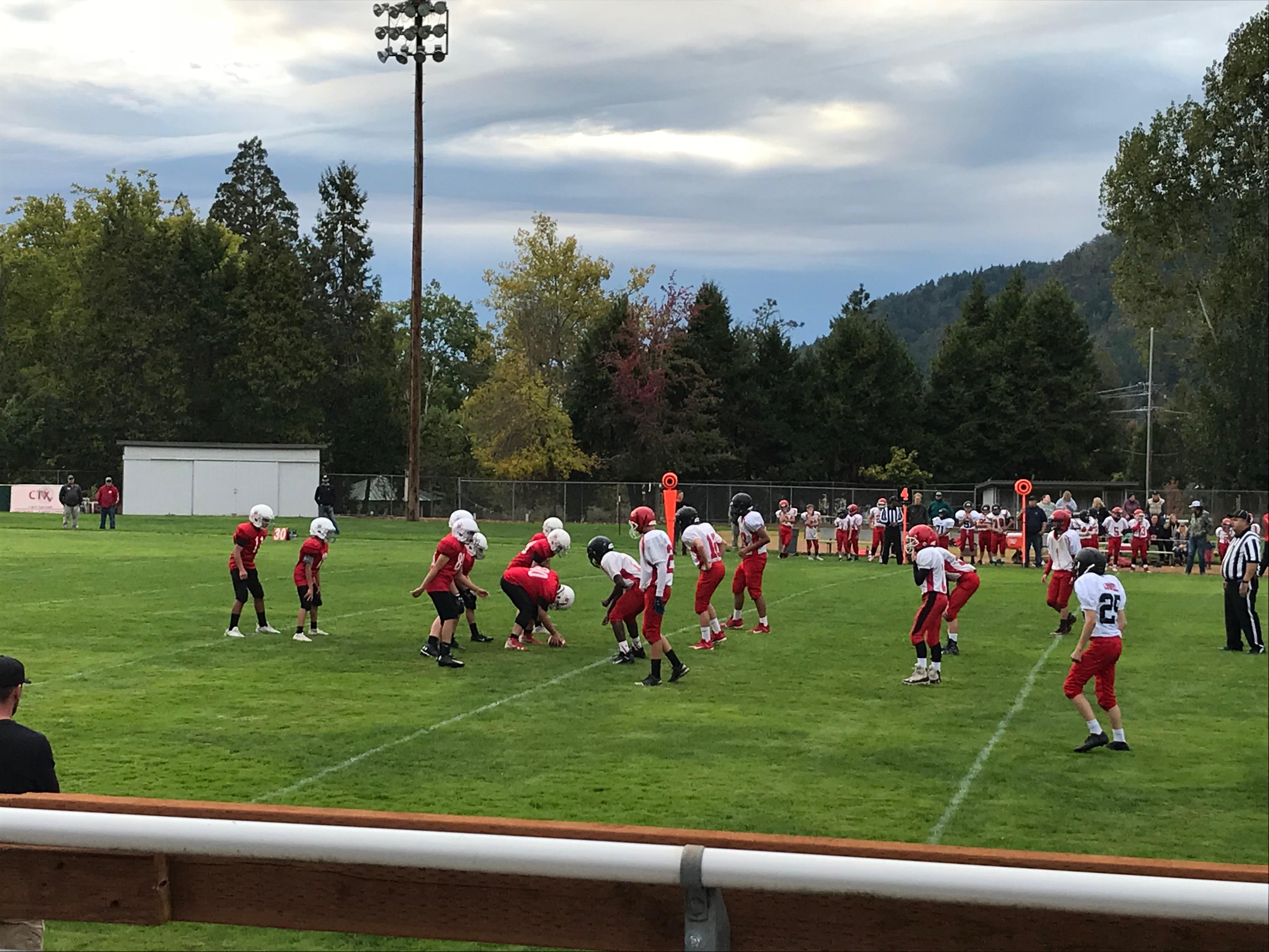 3 Football VS Lowell 10-2-19