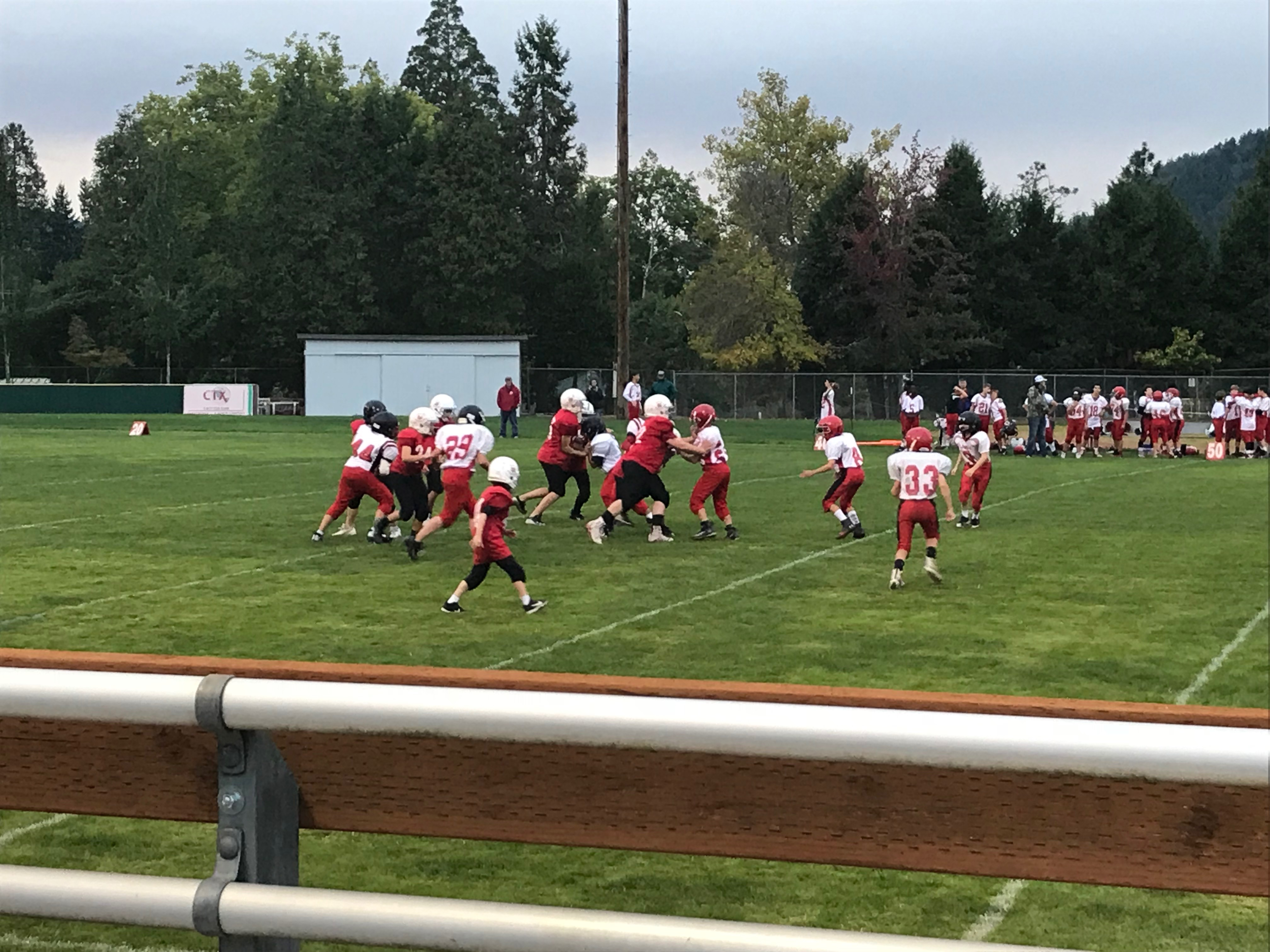5 Football VS Lowell 10-2-19