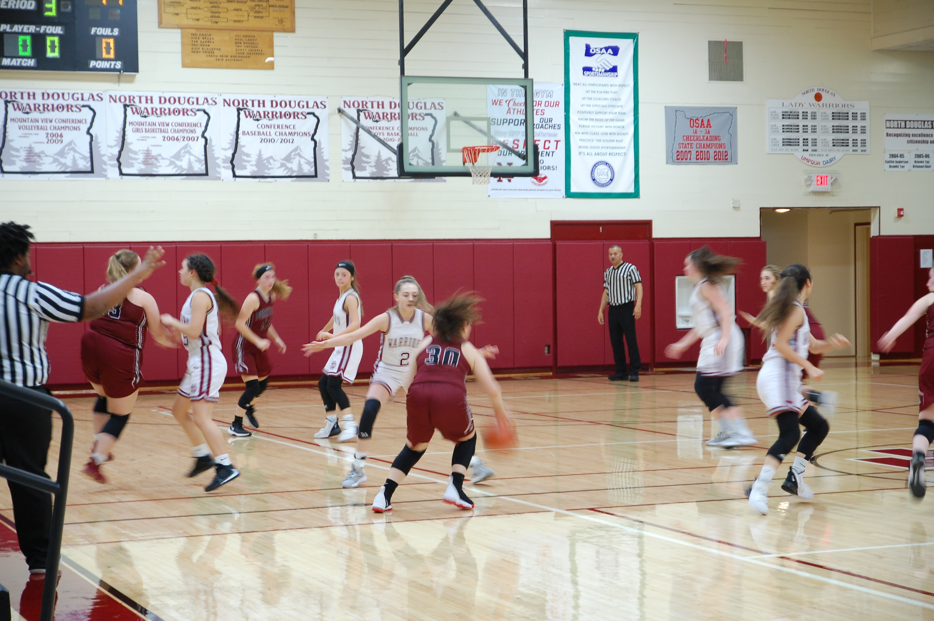 1 JV GBX v Perrydale 1-10-20