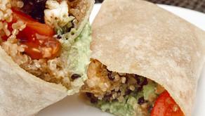 Quinoa & Lentil Burrito